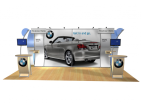 Cae Lynne - Perfect 20 Trade Show Displays | Custom Modular Hybrid Displays