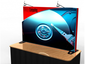 Table Top Displays | TF-408 Aero Tension Fabric Table Top Display