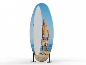 Banner Stands | TF-606 Aero Tension Fabric Banner Stand