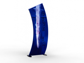 Banner Stands | TF-607 Aero Tension Fabric Banner Stand
