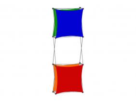 Pop Up Table Top Display | XSNAP 1x3J
