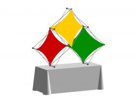 Pop Up Table Top Display | XSNAP 3QD