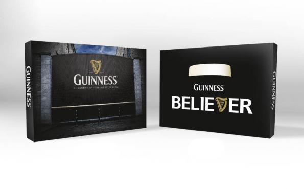 Guiness Pop Up Trade Show Displays