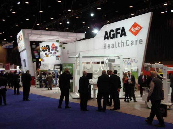 AGFA RSNA 2013 trade show & conference exhibit