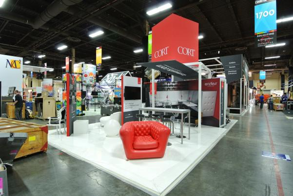 Lovely CORT Furniture EXHIBITOR 2013 Trade Show Display