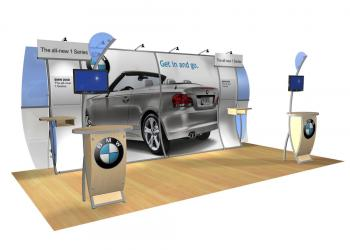 Trade Show Displays | Custom Modular Hybrid Displays