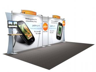 Trade Show Displays | Sacagawea Hybrid Displays