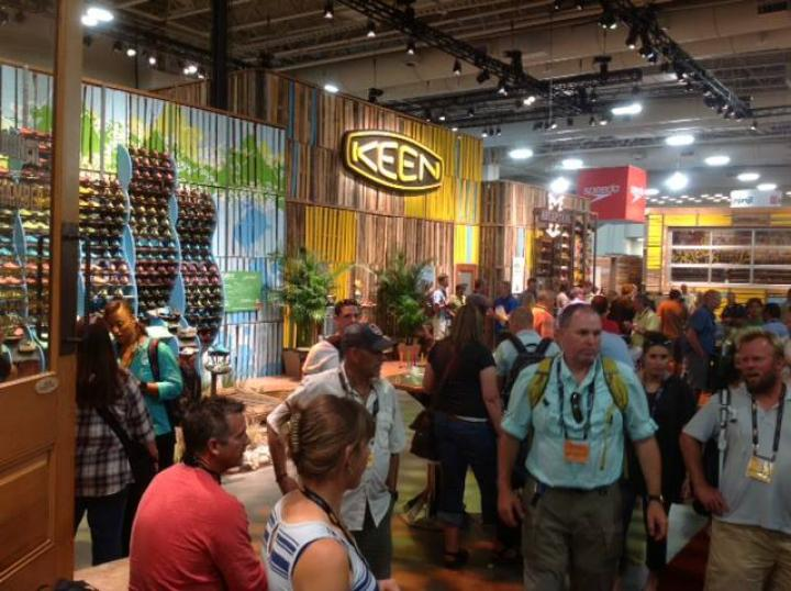 Keen Outdoor Retailer 2013 trade show & conference exhibit