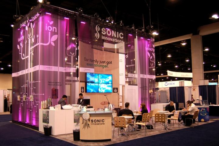 Sonic trade show conference display booth