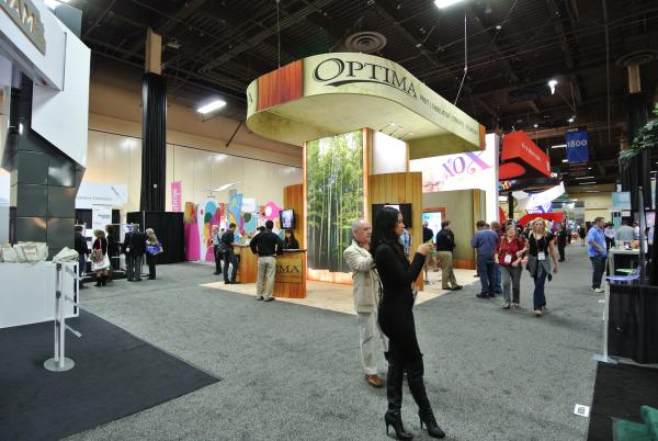 Optima Graphics EXHIBITOR 2013 Trade Show Display