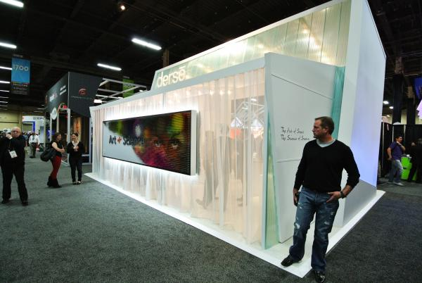 Fabric Exhibition Stand Here : Inspiring trade show display photos