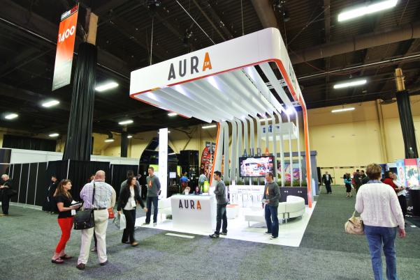AURA EXHIBITOR 2013 Trade Show Display