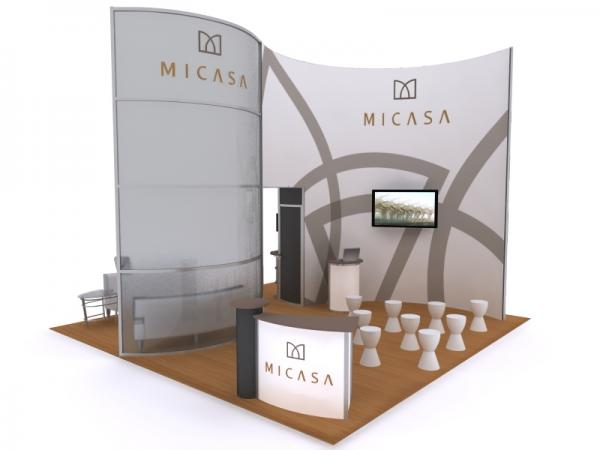 Visionary Designs Custom Hybrid Trade Show and Conference Exhibit VK-5095