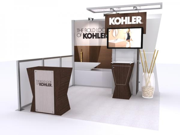 Visionary Designs Custom Hybrid Trade Show and Conference Display VK-1322