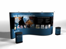 Trade Show Displays | Trade Show Portable Display Pop Ups